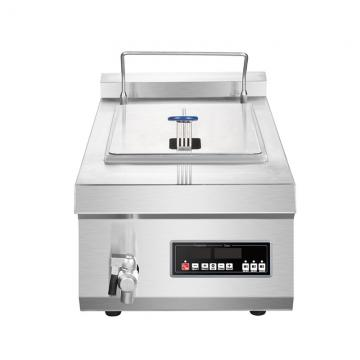 Professional Continous Electric Gas Fried French Fries Fryer Potato Chips Frying Machine