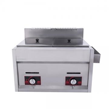 Industrial Gas Deep Fries Fryer Machine Stainless Steel
