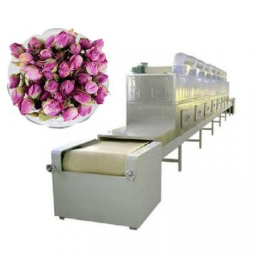 Tunnel Chrysanthemum Leaves Tea Microwave Dryer Sterilization Machine