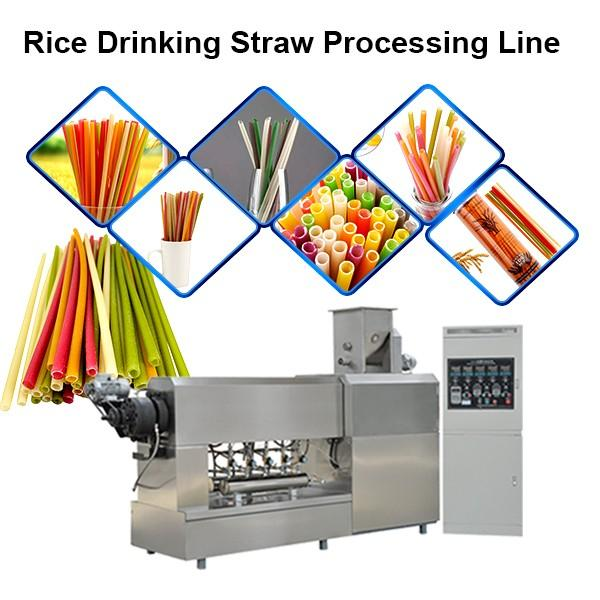 Cheapest pla drinking straws making machine extruder #1 image