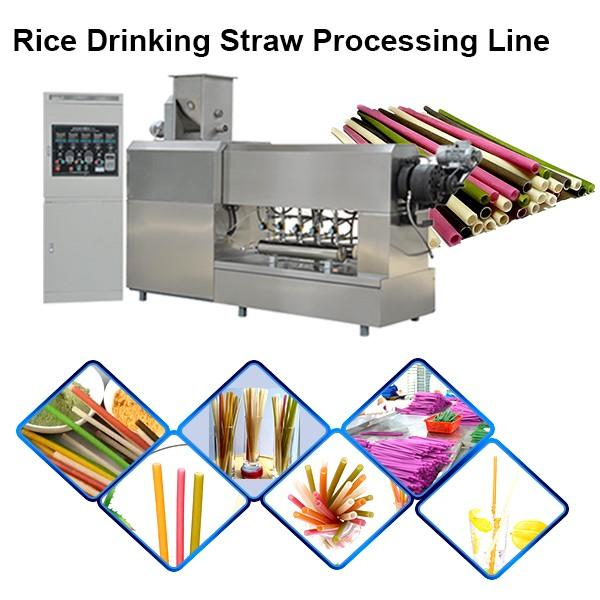 Automatic extruding machine of pp drinking straw #1 image