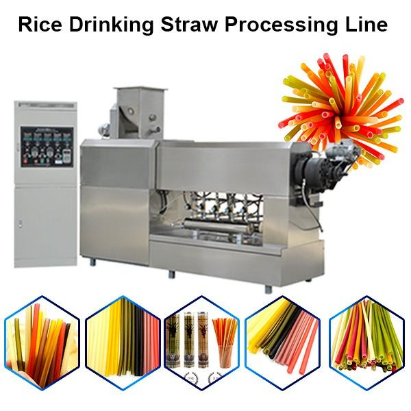 Automatic PP drinking straw extruder #1 image