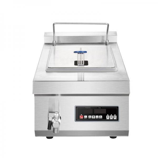 Professional Continous Electric Gas Fried French Fries Fryer Potato Chips Frying Machine #1 image