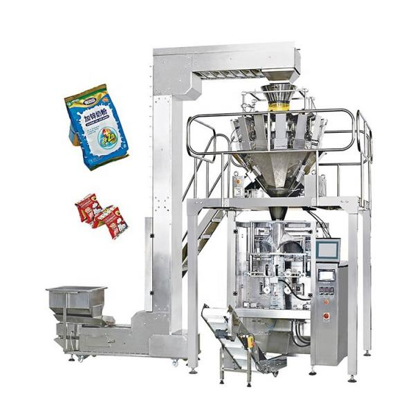 Fully Automatic Feeding Weighing Dosing Bagging Garlic Pouch Packaging Machine #1 image